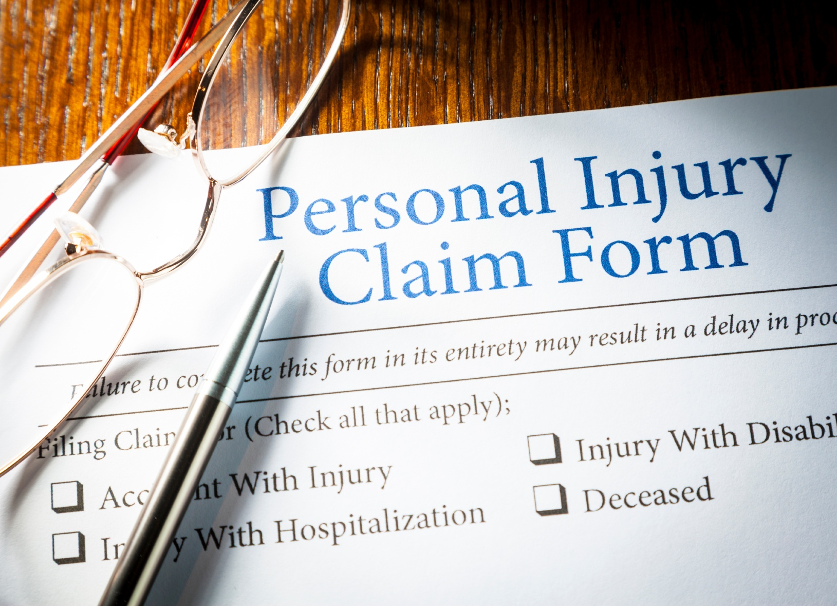 Understanding injury claims and lawsuits