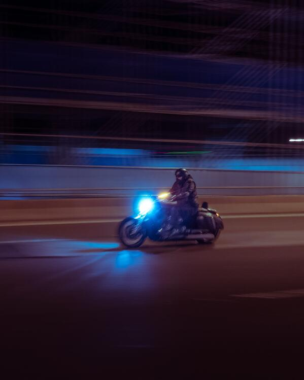 How to Stay Visible on a Motorcycle